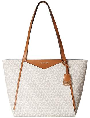 MICHAEL Michael Kors Whitney Large Top Zip Tote Tote Handbags