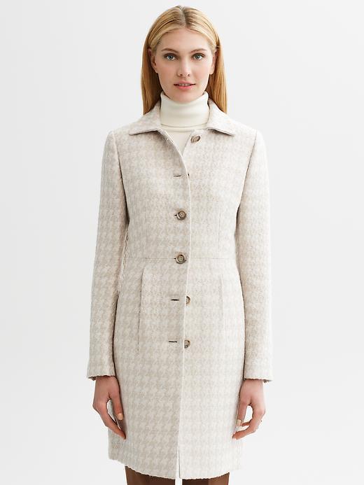 Banana Republic Textured lady coat