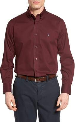 Nordstrom Smartcare(TM) Traditional Fit Twill Boat Shirt