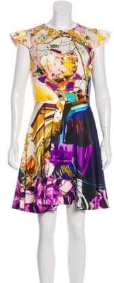 Mary Katrantzou Printed Mini Short Dress