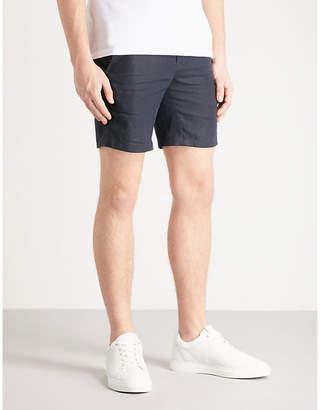 Sandro Drawstring-waist linen shorts