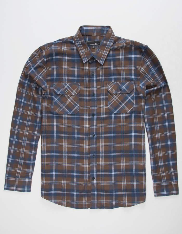 Coastal Tumbleweed Mens Flannel Shirt
