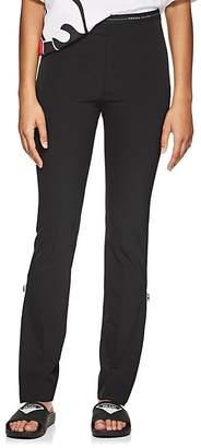 Prada Women's Logo-Waist Stretch-Twill Leggings