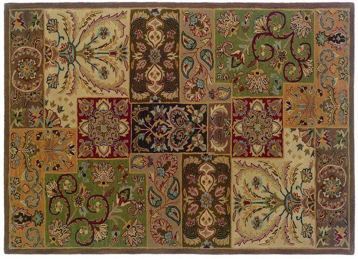 """Oriental weavers windsor floral colorblock rug - 3'6"""" x 5'6"""""""