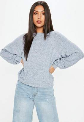 Missguided Brushed Crew Neck Sweatshirt