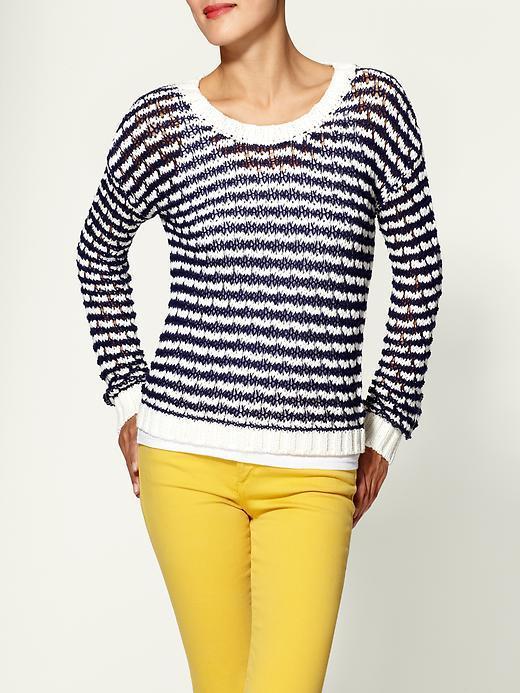 Hive & Honey Chunky Stripe Pullover