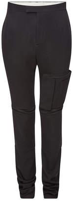 Raf Simons Slim Space Virgin Wool Pants