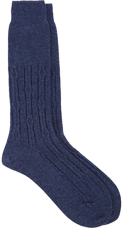 Antipast Antipast Women's Cable-Knit Socks