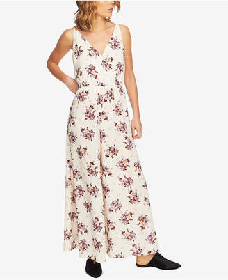 1 STATE 1.state Floral-Print Wide-Leg Jumpsuit