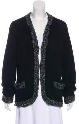 Chanel Wool & Alpaca-Blend Cardigan