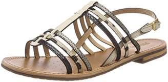 Geox Women's Sozy 23 Flat Sandal