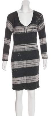 Raquel Allegra Jersey Mini Dress