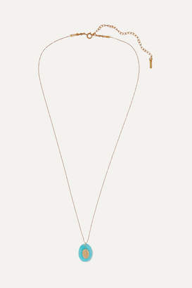 Chan Luu Gold-plated Amazonite Necklace - Blue