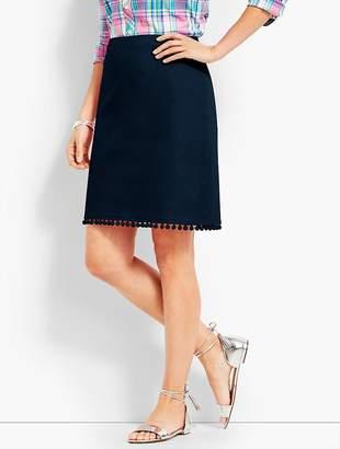 Talbots Pom-Pom A-Line Skirt