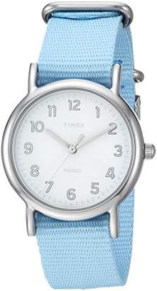 Timex Women's TW2R80600 Weekender 31 Nylon Slip-Thru Strap Watch