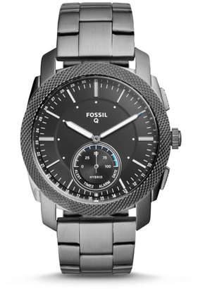 Fossil Hybrid Smartwatch - Q Machine Smoke Stainless Steel