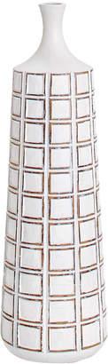 Torre & Tagus Attica Grid Medium Floor Vase