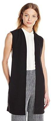 Eleven Paris Women's Sleeveless Crepe Vest $59.99 thestylecure.com