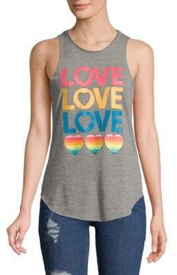 Chaser Love Heart Tank Top