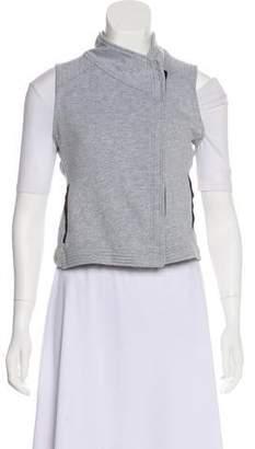 Vince Asymmetrical Knit Vest