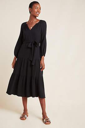 Velvet by Graham & Spencer Samara Textured Midi Dress