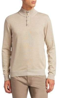 Saks Fifth Avenue COLLECTION Mockneck Sweater