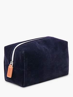 Caroline Gardner Velvet Cosmetic Bag, Multi