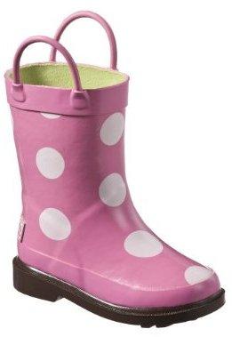 GNK Polka Dot Rain Boot Pink