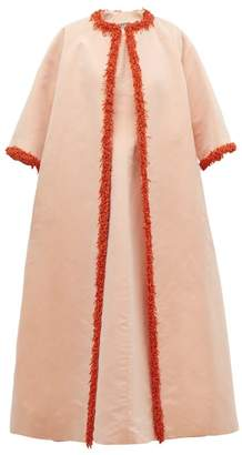 Givenchy William Vintage 1963 Coral Trimmed Faille Coat And Gown - Womens - Pink