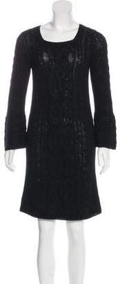 Diane von Furstenberg Knit Sweater Dress