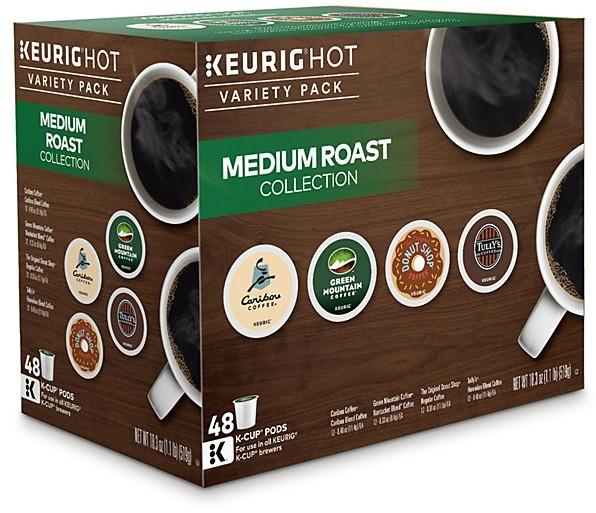 Keurig Medium Roast Variety Pack