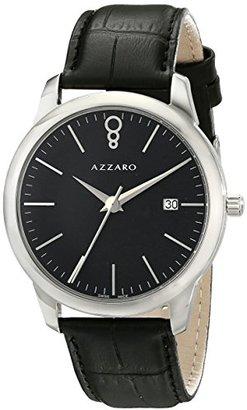 Azzaro メンズaz2040.12bb。000 Legendアナログディスプレイスイスクォーツブラックウォッチ