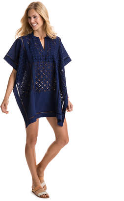 Vineyard Vines Pieced Poncho Cover-Up