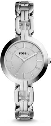 Fossil Kerrigan Three-Hand Stainless Steel Watch
