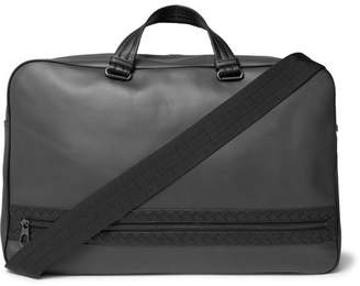 b972b433d666 Bottega Veneta Intrecciato-Trimmed Leather Holdall
