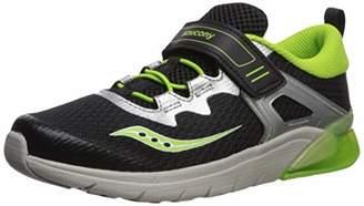 Saucony Boys' Flash Glow A/C Sneaker