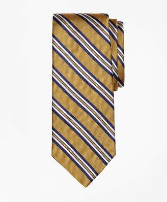 Brooks Brothers Natte Double Stripe Tie