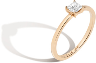 AUrate New York Large Diamond Solitaire Ring