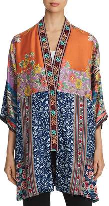 Johnny Was Bianca Silk Reversible Kimono