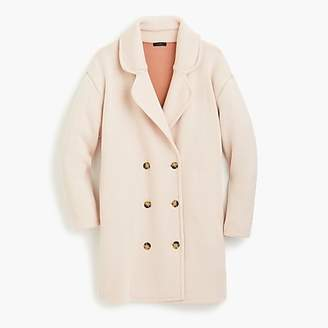 J.Crew Collection double-breasted sweater-coat