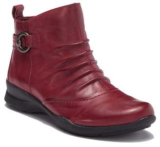 Earth Alta Leather Ankle Bootie