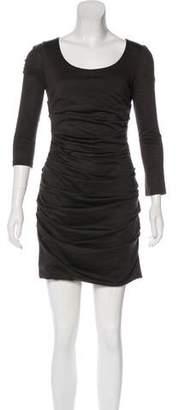 Dolce & Gabbana Virgin Wool Bodycon Dress