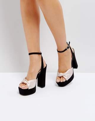 d9f0fef75c3 Coco Wren Knot Platform Sandal