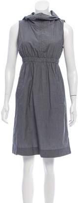 Nili Lotan Plaid Mini Dress