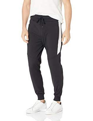 GUESS Men's Keith Color Block Jogger
