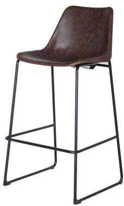 New Pacific Direct Delta Modern Rustic Bar Stool, Multiple Colors