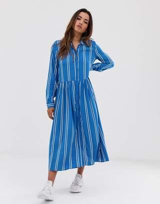 MBYM stripe midi dress