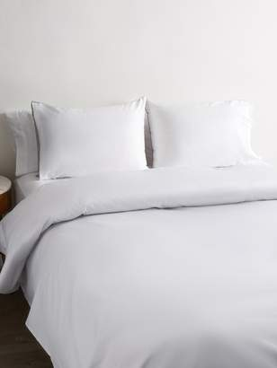 Saks Fifth Avenue Reversible Sateen Cotton Duvet Set
