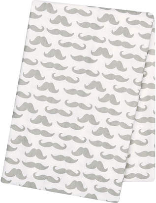 Trend Lab TREND LAB, LLC Mustaches Deluxe Swaddle Blanket