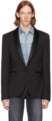 Pierre Balmain Black Tuxedo Blazer